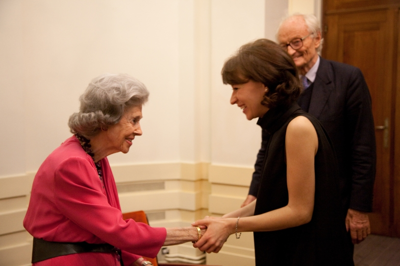 Queen Elizabeth Competition - prize ceremony - 06